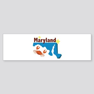 State Of Maryland Bumper Sticker